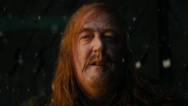 Stephen Fry plays Master of Laketown