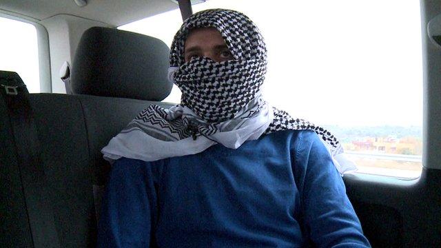 A man who runs a jihadist safe house in Turkey