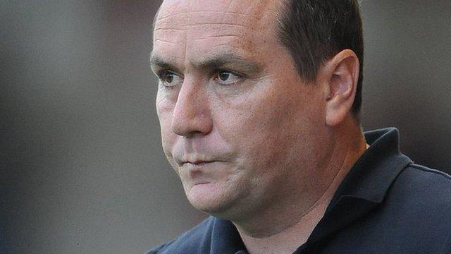 Barnsley caretaker manager Micky Mellon
