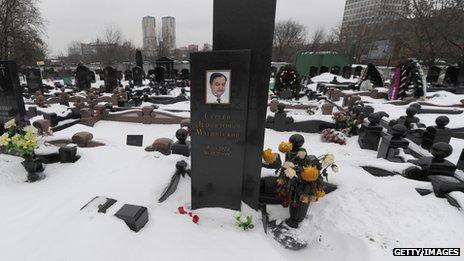 Magnitsky's grave