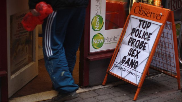 Rochdale sex probe poster