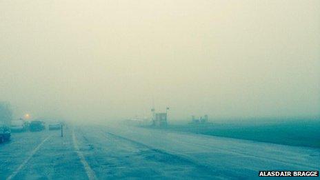 Fog at Stapleford