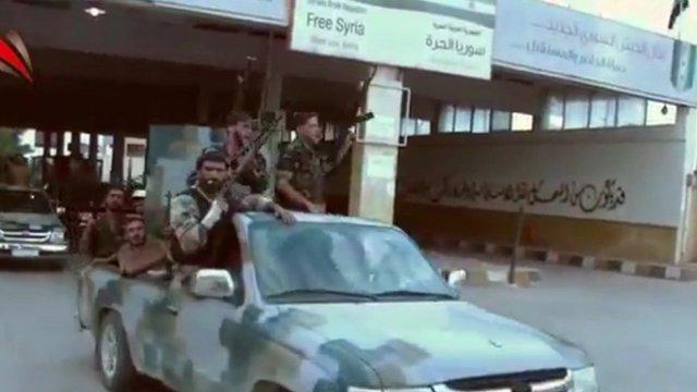 Rebels in Syria