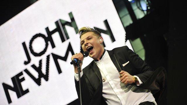 Singer John Newman