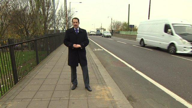 The BBC's Matt Prodger in Tottenham, north London