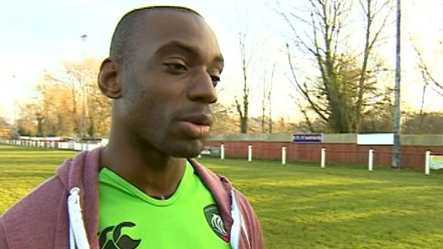 Leicester Tigers wing Miles Benjamin
