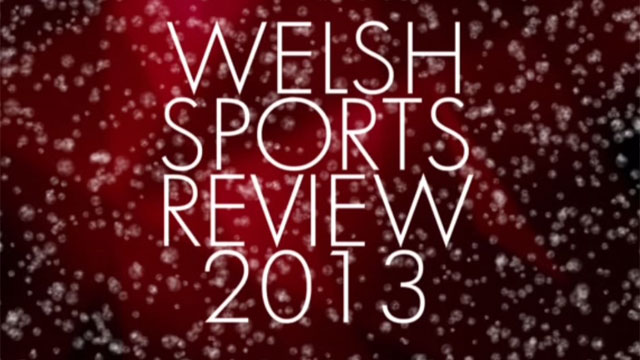 Welsh Sports Review 2013 graphic