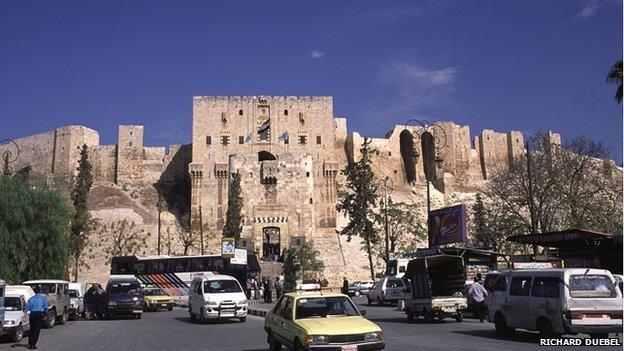 Aleppo, Syria, The Citadel