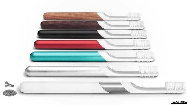 Simon Enever's modular toothbrush