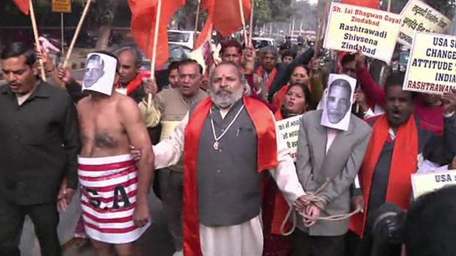 India protesters