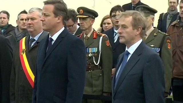 David Cameron and Enda Kenny