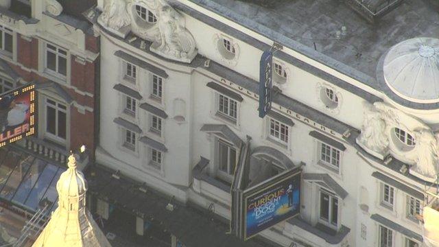 Apollo Theatre roof