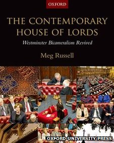 The Contemporary House of Lords book cover