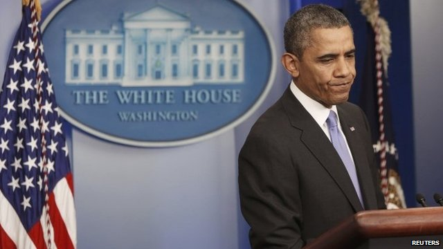Barack Obama holds his year-end news conference