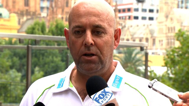"""Australia coach Darren Lehmann says he is """"surprised"""" by Graeme Swann's decision to retire from cricket."""