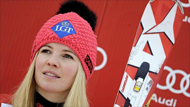 Tina Weirather of Liechtenstein