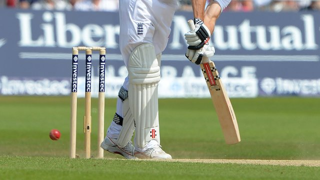 England's Alistair Cook
