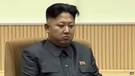 North Korean leader Kim Jong-un attends an event to mark the second anniversary of the death of his father, former leader Kim Jong-il, in Pyongyang, North Korea 17 December 2013