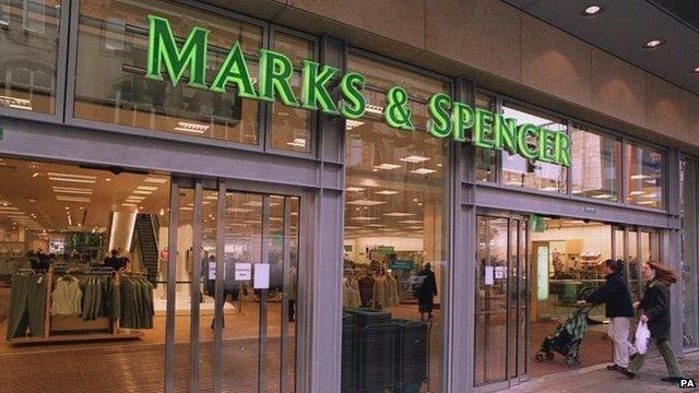 Marks & Spencer shop in Manchester