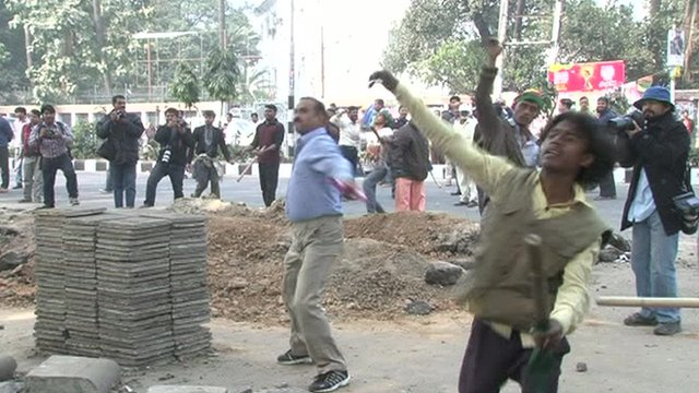 Dhaka protest