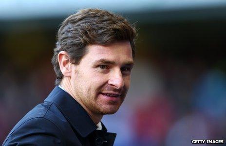 Manager of Tottenham Hotspur Andre Villas-Boas