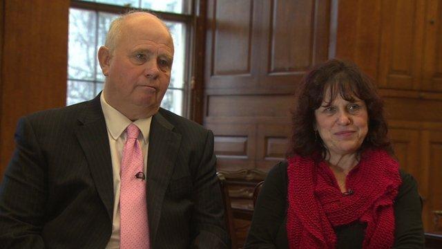Barry and Margaret Mizen