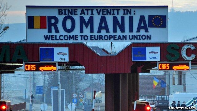 Romanian border
