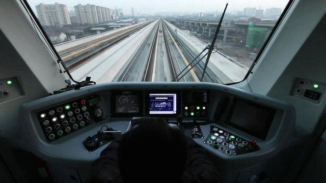 A ride on Shanghai's metro
