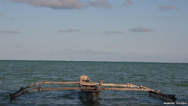 Boat in Tanzania