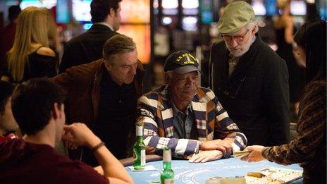 Robert De Niro, Morgan Freeman and Kevin Kline in Last Vegas