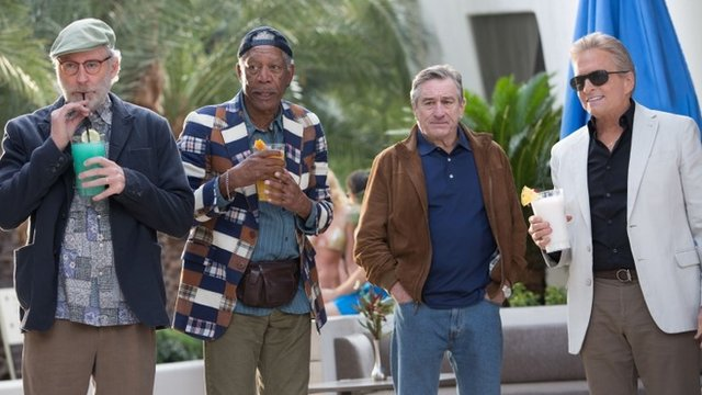 Kevin Kline, Morgan Freeman, Robert De Niro and Michael Douglas