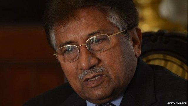 Pervez Musharraf - file photo