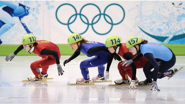 Short-track speed skating