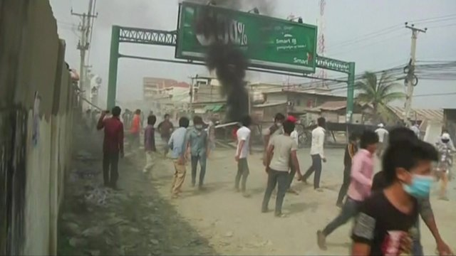 Clashes in Phnom Penh