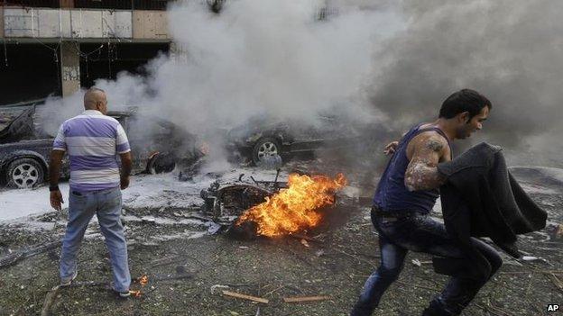 Iran embassy bombing in Beirut, 19 Nov 2013