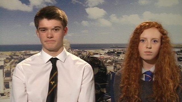Martin Close and Erin Fyfe McWilliam