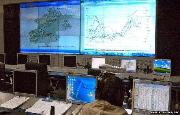 Monitoring centre
