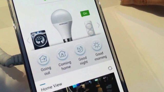 Home controls app
