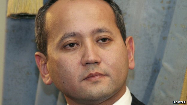Dissident Kazakh oligarch Mukhtar Ablyazov is seen in Almaty in this November 27, 2006 file photo