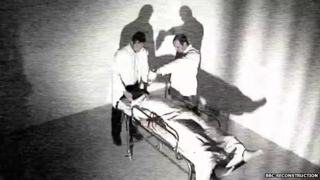 Reconstruction of waterboarding