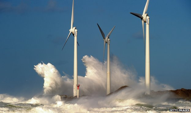 France - wind turbines