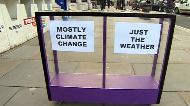 Daily Politics mood box on weather