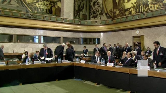 Venue for Geneva peace talks