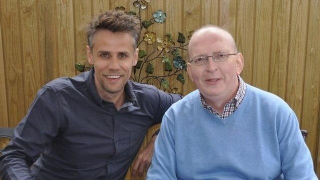 Richard Bacon and Steve Evans