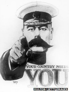 Lord Kitchener recruitment poster