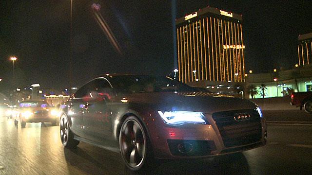 A self-driving car