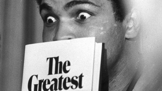 World heavyweight champion Muhammad Ali