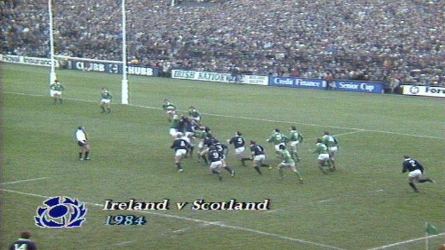 Grand Slam 1984 - Ireland 9-32 Scotland