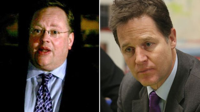 Lord Rennard, Nick Clegg