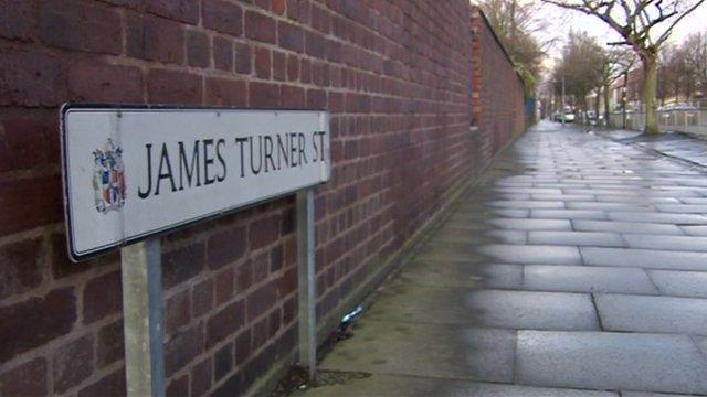 James Turner Street sign